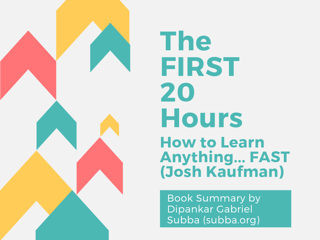 The First 20 Hours Book Summary Cover Page